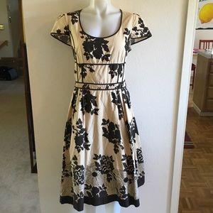 MAX MARA WEEKEND Brown/Beige Floral Dress 48/US14